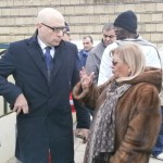 Mario Vattani dialoga con Silvana Fucito
