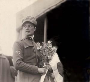 Arturo Ferrarin arriva a Tokyo 31 maggio 1920